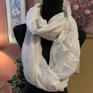 Express shimmer infinity scarf